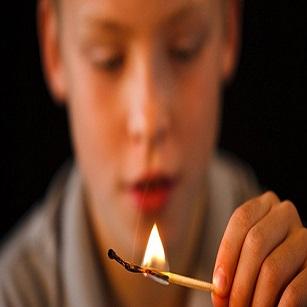 Mersin Çocuk Kibrit ve Ateşle Oynama